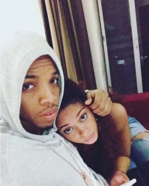 Yellow Pawpaws: ❤️ Tekno shares photo of he and Lola Rae cuddling
