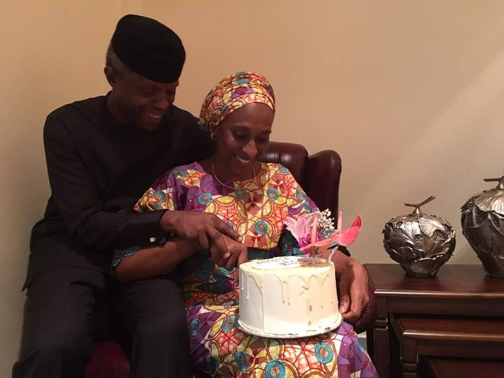 My gift from God, watching over me - Yemi Osinbajo celebrates wife Dolapo on her birthday