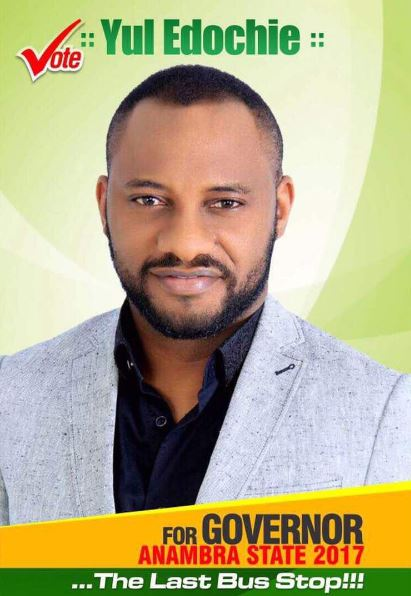 Yul Edochie running for Governor of Anambra State?