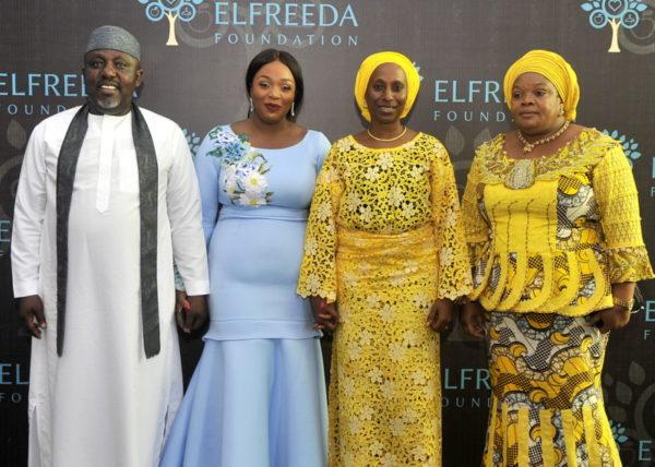Rochas Okorocha, Dolapo Osinbajo & Betty Irabor at the Grand Opening of Elfreeda Foundation – An open Shelter for Homeless Women & Children