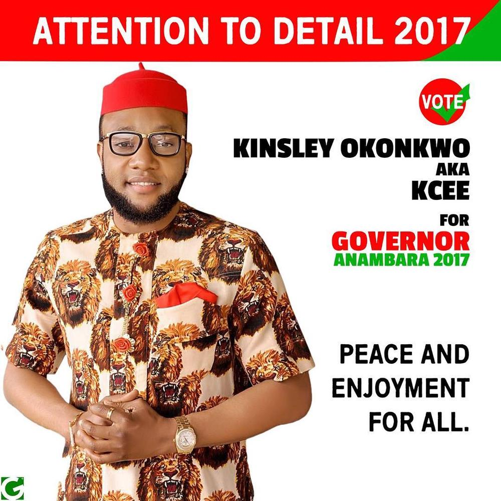 BellaNaija - Kcee declares intention to run for Governor of Anambra State