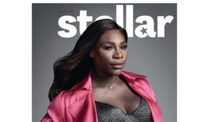 BellaNaija - Star Girl! Serena Williams covers Stellar Magazine's Latest Issue