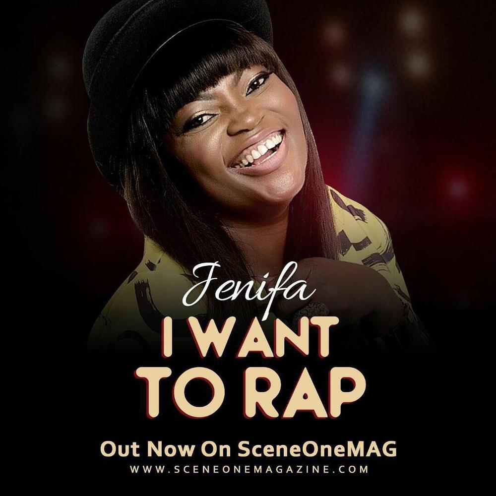 """BellaNaija - """"New Kid on The Block""""? Listen to Jenifa's New Single """"I Want To Rap"""""""