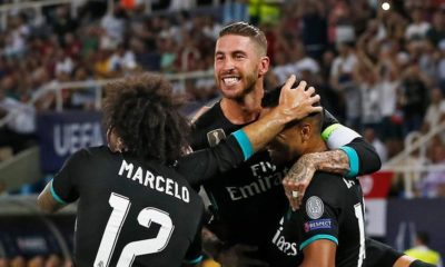 BellaNaija - Real Madrid claim reclaim UEFA Super Cup Crown with 2-1 win over Manchester United