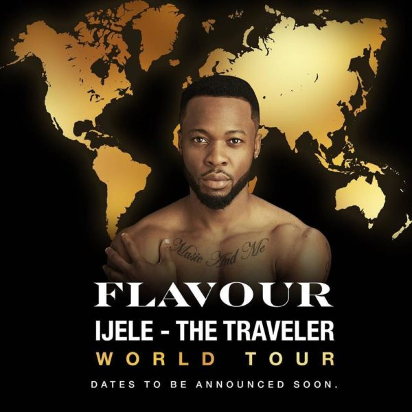 "BellaNaija - Flavour set to go on World Tour for New Album ""Ijele - The Traveler"""