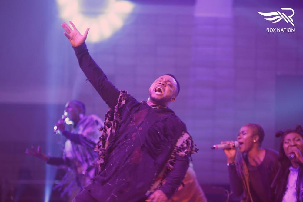 BellaNaija - #FearlessConcert: Kirk Franklin, Tim Godfrey, Frank Edwards worship God in Style | Photos + Video
