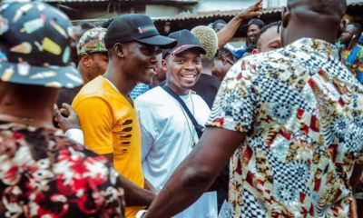 """BellaNaija - One time for the Hood! Olamide shoots Video for New Single """"Wo"""" in Bariga 