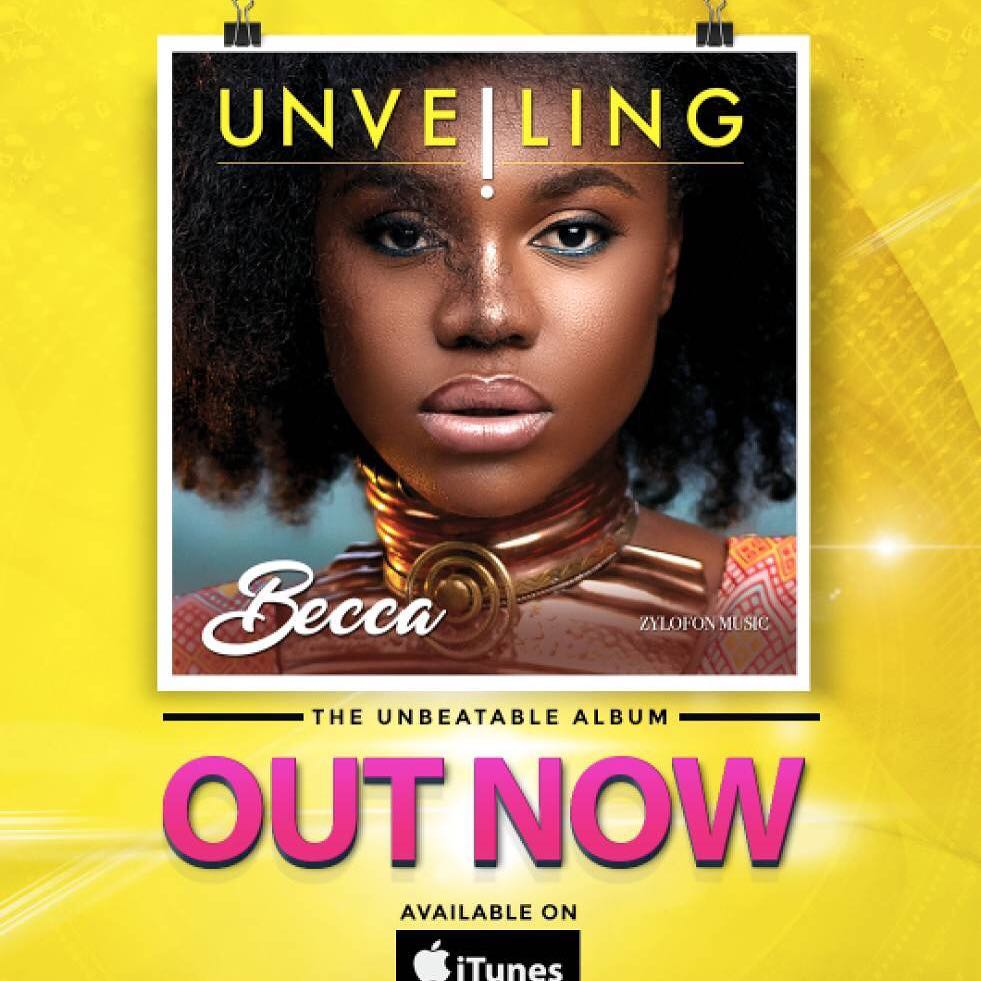 "Becca drops New Album ""Unveling"" 