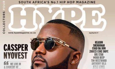 BellaNaija - Cassper Nyovest covers The Frontline Edition of Hype Magazine