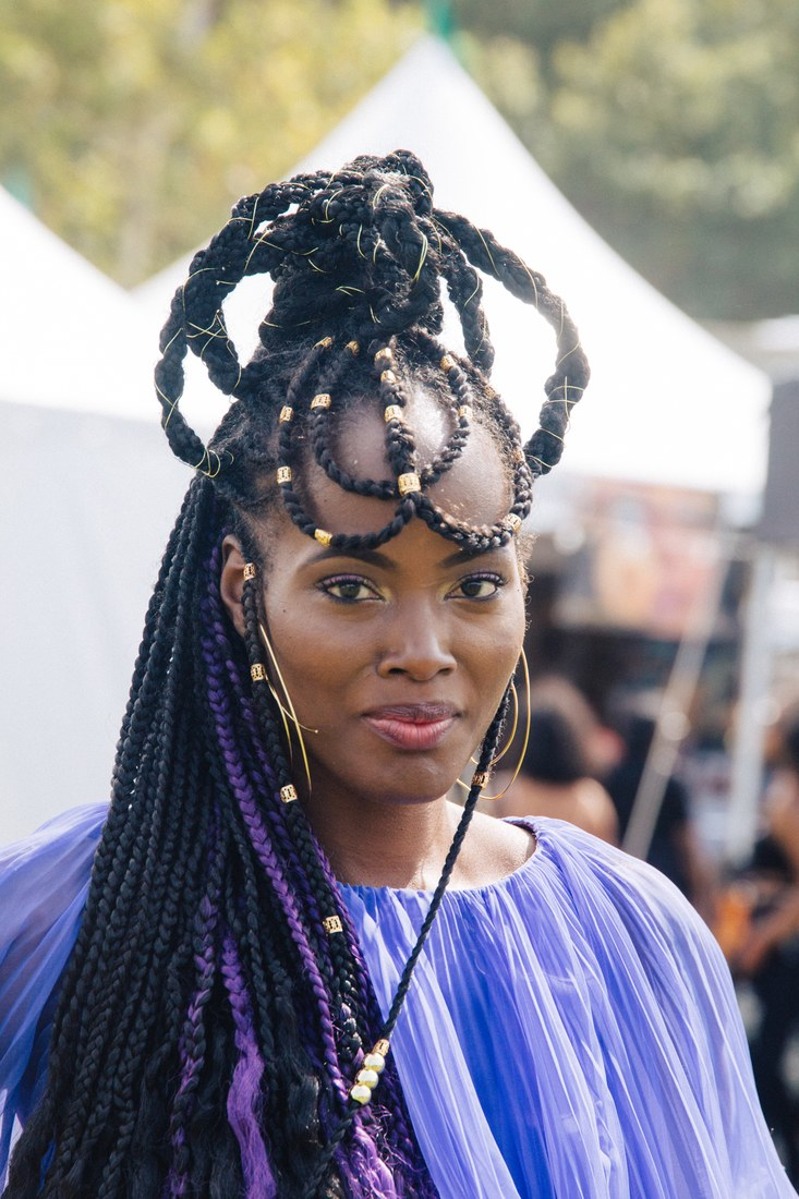 Black Amp Fabulous See The Most Peculiar Hairstyles From
