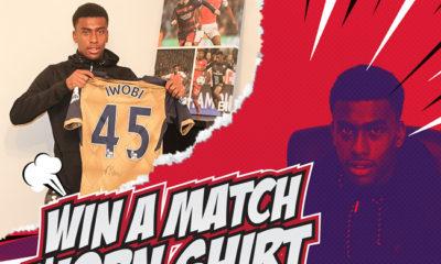 Alexandar Iwobi Arsenal giveaway