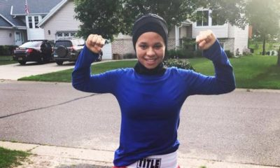 BellaNaija - Stand for what you believe in! This Teen Boxer fought for the Right to wear her Hijab in the Ring