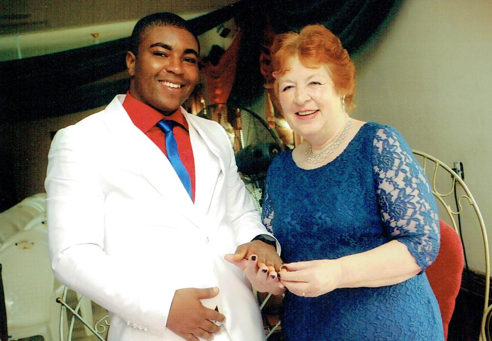 """I couldn't help falling for him,"" says British woman married to Nigerian 45 years younger"