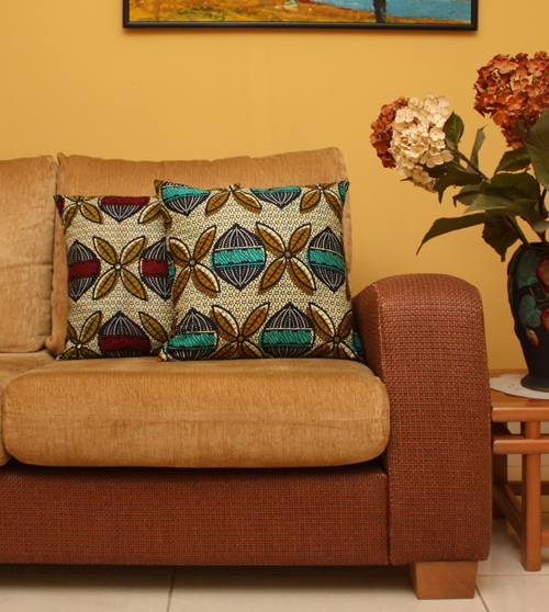 Bn interior 8 beautiful ways to infuse ankara into your home decor Pretty home decor pinterest