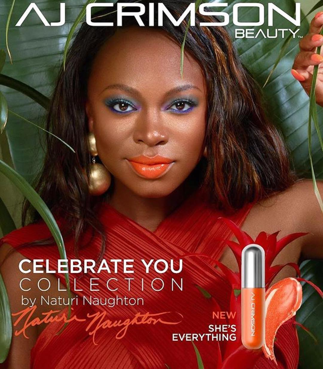 BN Beauty AJ Crimson Announces Power's Naturi Naughton as Brand Ambassador