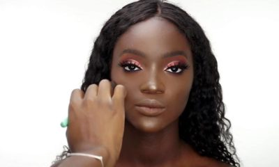 BN Beauty Gorgeous Dark Skin Makeup transformation by Ronke Raji