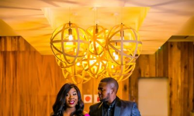 When the Groom styles His Bride ❤️ Temi & Fola's Chic Pre-Wedding Photos and Love Story