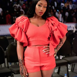 BN Style Spotlight Victoria Kimani was one Hot Tamale at #NBAAfricaGame2017 (2)