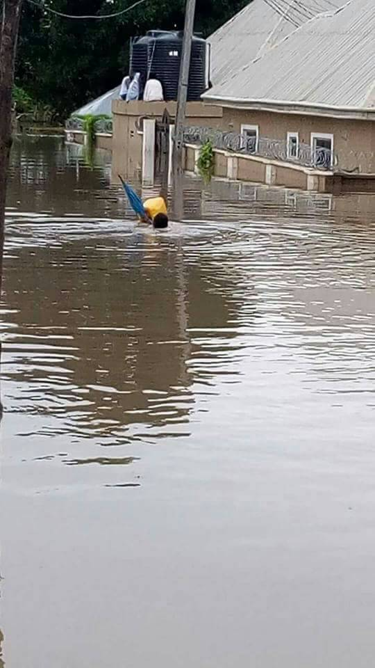 Makurdi Residents call for help as Flood submerges Homes | Watch