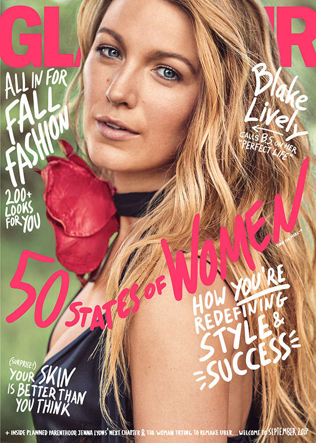 Blake Lively Stuns on the Cover of Glamour Magazine ...
