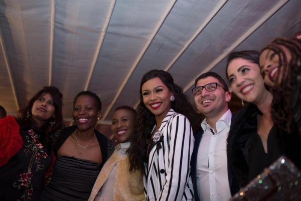 "Bonang Matheba celebrates Release of her New App ""Bonang by Cell C"" - BellaNaija"