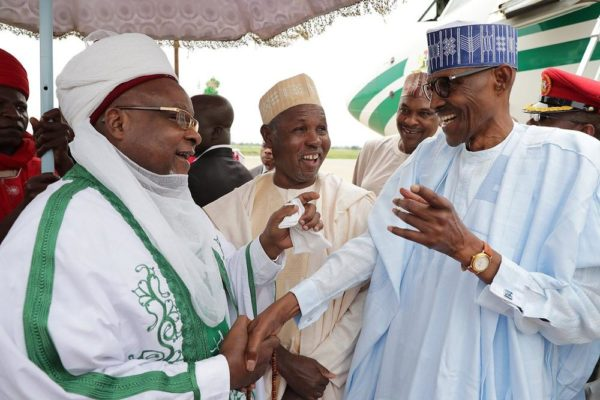 President Buhari arrives Daura for Eid-el-Kabir celebration