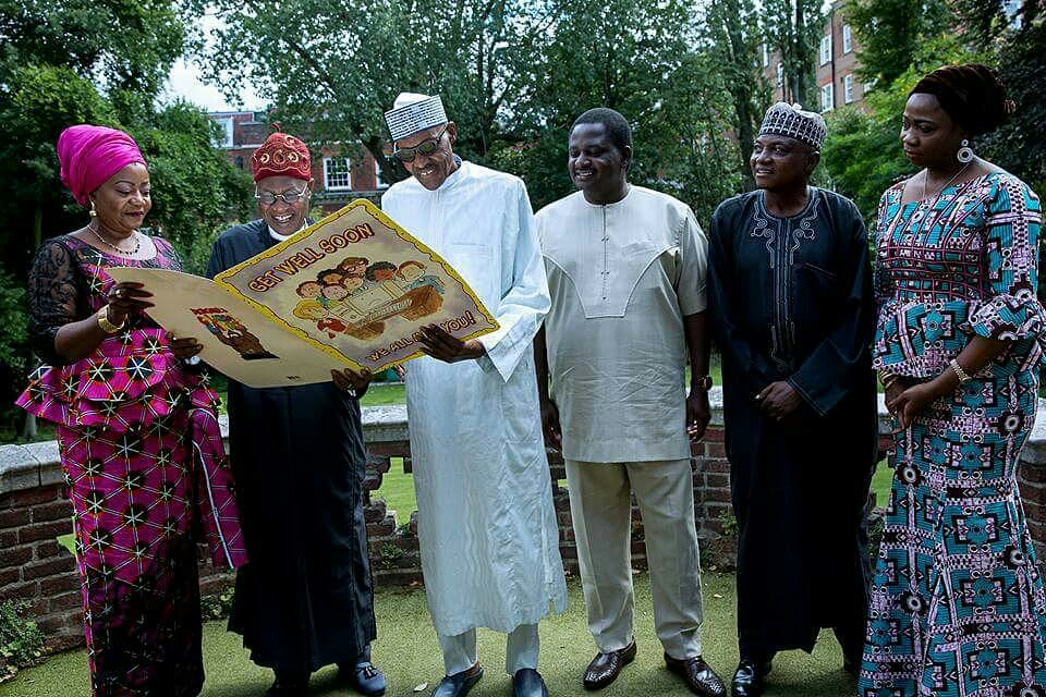 Saraki, Dogara visit Buhari again in London