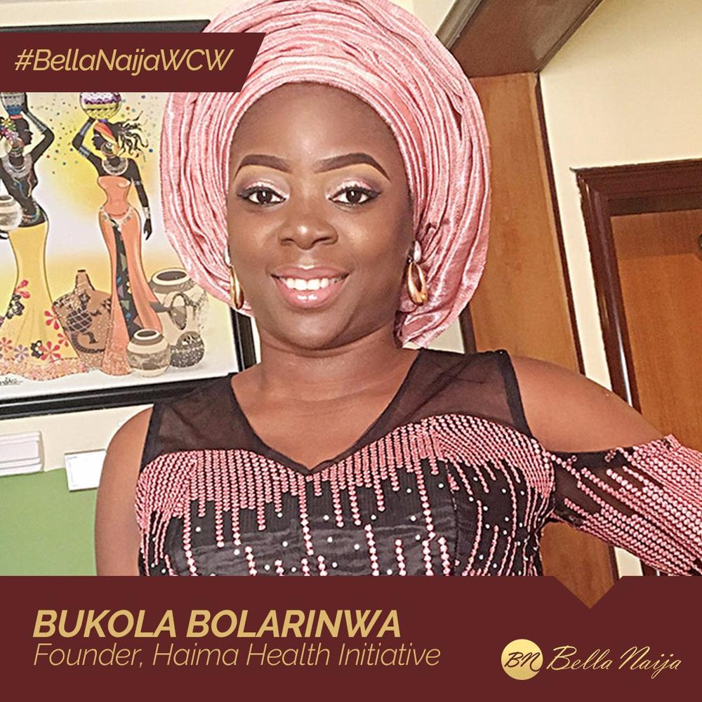 Blood Donation & Sickle Cell Awareness Advocate Bukola Bolarinwa is our #BellaNaijaWCW this Week