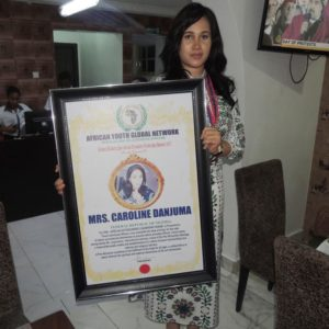 Caroline Danjuma Nelson Mandela Pan-African Award
