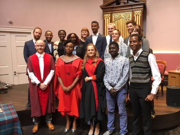 Chimamanda Ngozi Adichie receives Honorary Degree in Edinburgh University, Scotland - BellaNaija