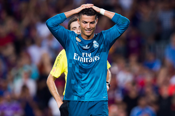 Cristiano Ronaldo suspended for 5 matches for pushing referee in Real Madrid win