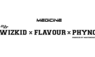 BellaNaija - New Music: Wizkid x Flavour x Phyno - Medicine (Remix)
