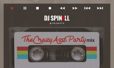 BellaNaija - New Mixtape: DJ Spinall - The Crazy Azz Party Mix