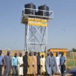 MTN foundation Damaturu water supply