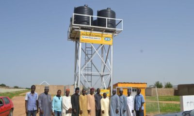 MTN foundation Damaturu water supply