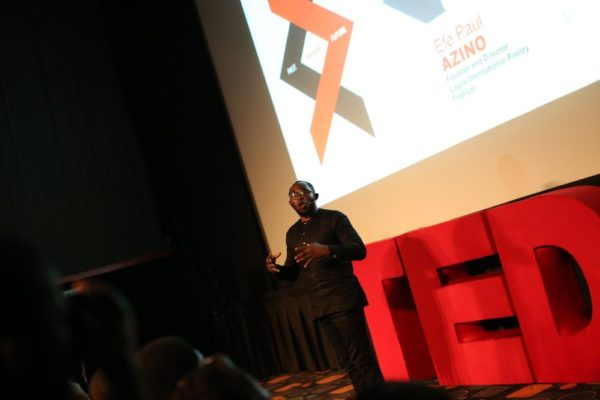 Efe Paul Azino at TEDxYaba2017
