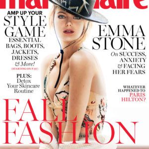 Emma Stone covers Marie Claire Magazine September Issue (1)