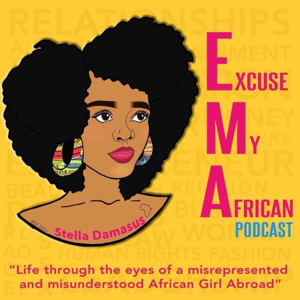 "Stella Damasus to start Podcast series ""Excuse My African"" - BellaNaija"