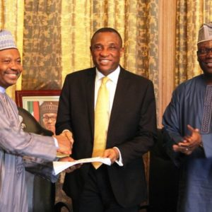 FG hands over Presidential lodge in Marina to LASG