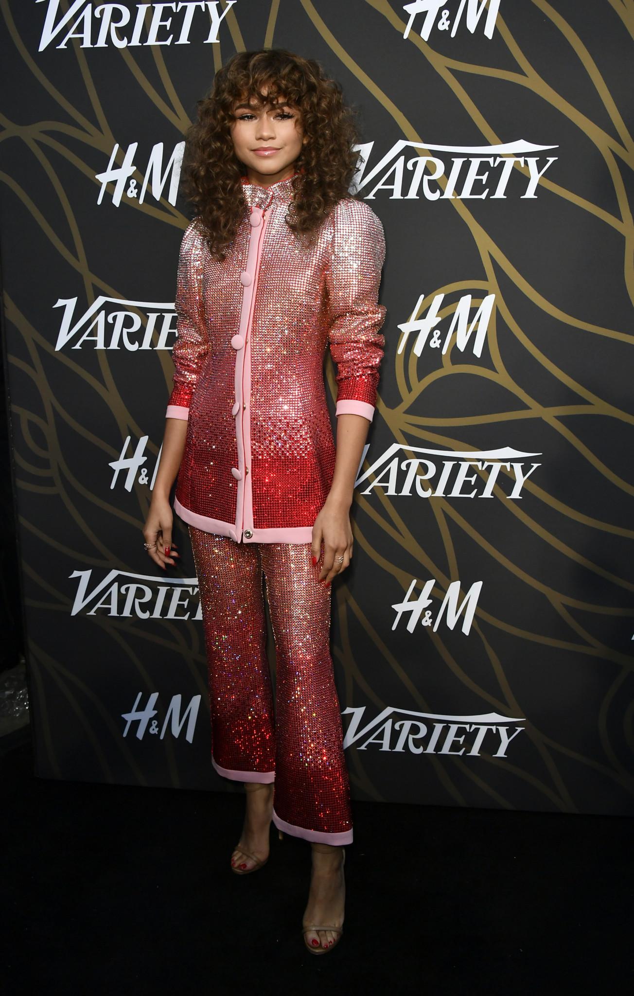 Red Carpet Photos! Zendaya Coleman, Rita Ora, Yara Shahidi attend the 2017 Variety Power of Young Hollywood
