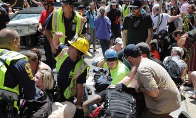BellaNaija - #Charlottesville: One dead and 19 others injured as Car Hit Crowd after White Nationalist Protest end in Violence