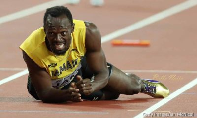 Great Britain wins 4X100 relay Gold as Usain Bolt pulled up injured in final career race
