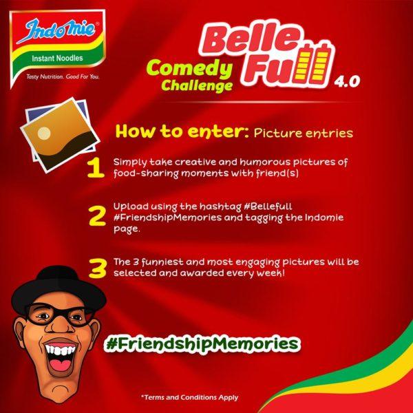 Indomie Bellefull comedy challenge