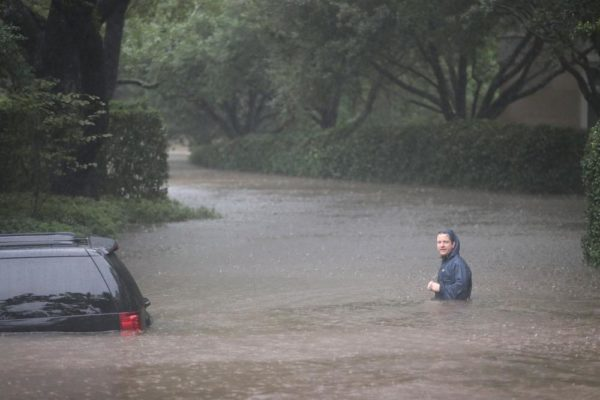 Houston hit by Massive Flood in the wake of Hurricane Harvey - BellaNaija