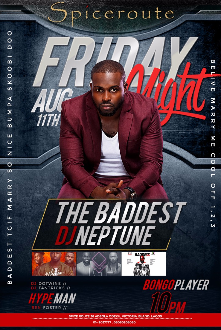 DJ Neptune at Spiceroute