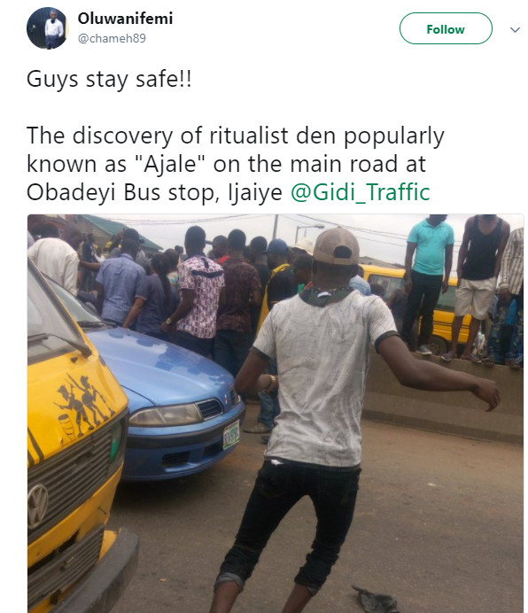 Police arrests 7 after Discovery of Ritualists' Den Under Expressway