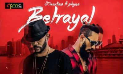 BellaNaija - New Music: J. Martins feat. Phyno - Betrayal