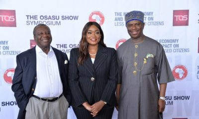 Osasu Show Symposium on poverty alleviation