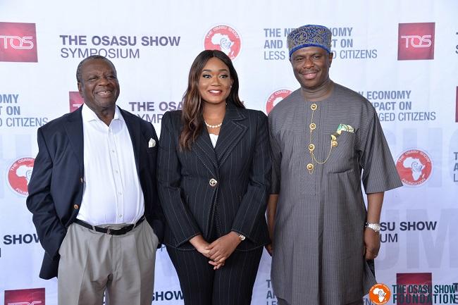 Osasu Show Symposium on poverty alleviation