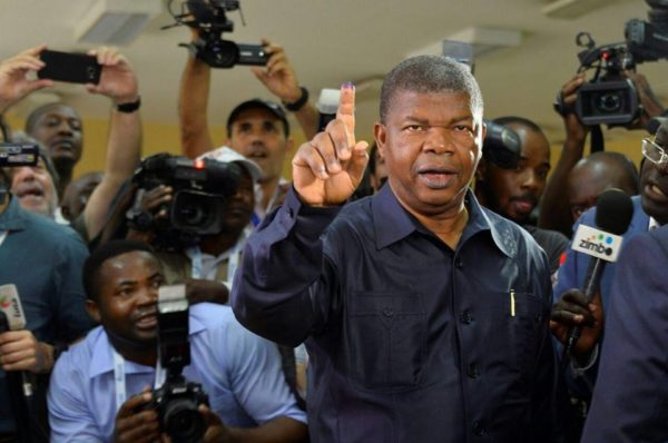 Angolan ruling party declared election winners